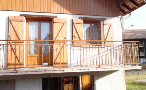 A louer maison F3 avec garage – PREMANON